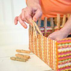 Zelf maken: kleurrijke opbergdozen - Wonen&Co