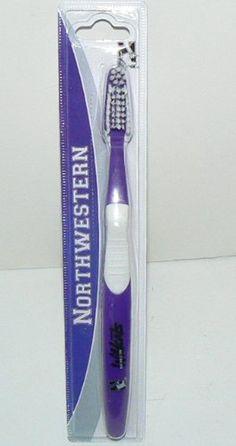 NCAA Licensed Northwestern Wildcats Toothbrush NCAA http://www.amazon.com/dp/B007G02JBA/ref=cm_sw_r_pi_dp_xeIBvb0B3DTFD