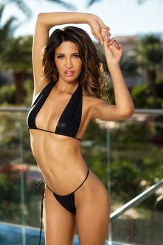 What a Beautiful Girl Wants: CJ Franco (Maxim) Sexy Bikini, Thong Bikini, Brunette Woman, Cover Model, Hottest Photos, Cute Guys, Female Models, Bikinis, Swimwear