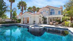 Mansion Luxury Back Yard Pool Wallpaper - Piscina Future House, Oberirdische Pools, Swimming Pools, Big Houses, Pool Houses, My Dream Home, Dream Homes, Bad Saarow, Piscina Rectangular