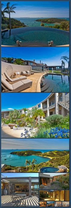 Waiheke Island Luxury Accommodation - Delamore Lodge [Collage made with one click using http://pagecollage.com] #pagecollage