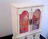 redo an old jewelry box into something similar to this.