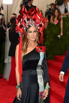 Sarah Jessica Parker en Jennifer Fisher, Cindy Chao, y Fred Leighton