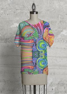 With a chic geometric cut, this top is the modern upgrade to your classic tee. Artwork details: united states, women's rights Dress Attire, My Design, Bloom, Men Casual, The Originals, Tees, Shirts, My Style, Modern