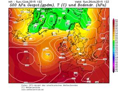The UK & Ireland 'Monster' heatwave is now becoming a regular feature within third party model indications for the period we stated in our 7 month ahead forecast (latest GFS run below) + various media reports + more ☀ smile emoticon ☀ smile emoticon ☀@ http://www.exactaweather.com/UK_Long_Range_Forecast.html