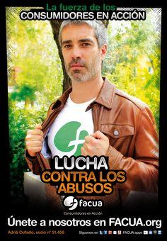 Adrià Collado, socio de FACUA nº 51.451, llama a los consumidores a la lucha contra los abusos