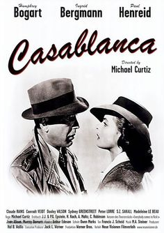 Casablanca posters for sale online. Buy Casablanca movie posters from Movie Poster Shop. We're your movie poster source for new releases and vintage movie posters. Classic Movie Posters, Film Posters, Classic Movies, Humphrey Bogart, Casablanca Film, Ingrid Bergman Casablanca, Bogart Movies, Deadpool, Claude Rains