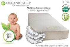 decently priced organic baby mattress