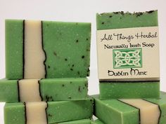 Irish Soap  Dublin Mint   celebrate all things by AllThingsHerbal, $6.00