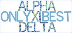 Alpha Xi Delta <3