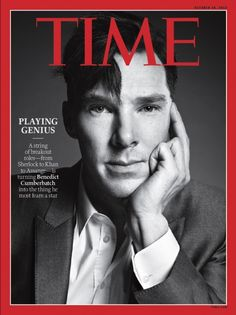 Benedict Cumberbatch Makes Cover of Time: Cumberbabes Swoon!