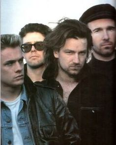 U2...interesting hair days