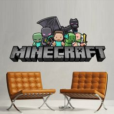 Full Color Wall Decal Vinyl Sticker Decor Art Bedroom Design Mural Like Paintings Minecraft Objects Creeper Steve Sheep Video Game (col508)