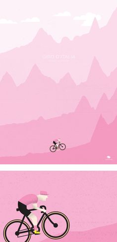 apisonadora60: Giro d'Italia 2015 - ClimbsHere's a limited run premium print celebrating the 4 mountain finishes of the Giro. Incorporating the profile of Stages 15, 16, 19 and 20. by Veloposters