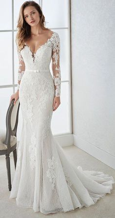 Wedding Dresses Lace Fit And Flare .Wedding Dresses Lace Fit And Flare Wedding Dress Trends, Country Wedding Dresses, Black Wedding Dresses, Princess Wedding Dresses, Bridal Dresses, Boho Wedding, Summer Wedding, Cinderella Wedding, Tulle Wedding