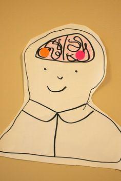 play find the brain activity Emotions Preschool, Body Preschool, Emotions Activities, Preschool Science Activities, Preschool Curriculum, Homeschooling, Kindergarten, Brain Craft, Brain Science