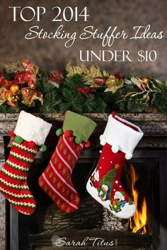Christmas will be here before you know it and you don't want to spend a fortune on the holiday season this year. Fantastic! Check out these Top 2014 Stocking Stuffer Ideas Under $10