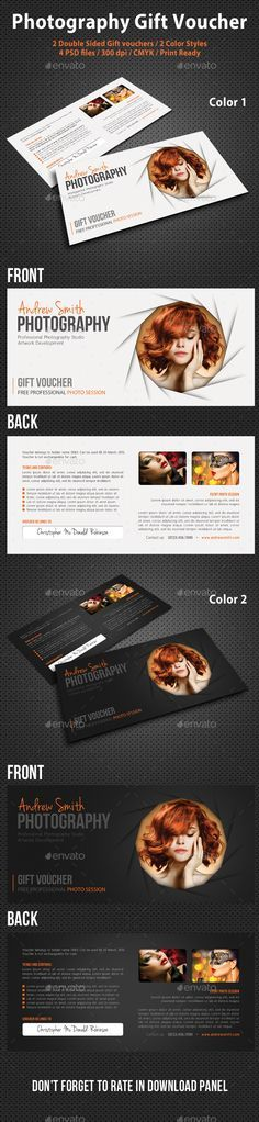 Fashion Gift Voucher Template Template, Cards and Gift - fitness gift certificate template