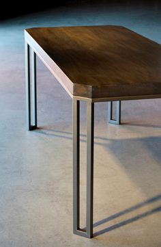 modern iron table - Google Search