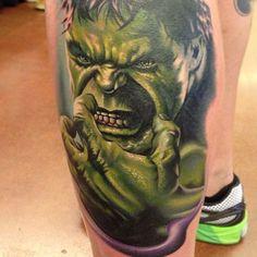 Best hulk ink ever.