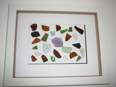 Beach Decor Sea Glass Framed inside a shadow box by BeachJettyCottage on Etsy Shadow Box, Sea Glass, Beach, Unique Jewelry, Frame, Handmade Gifts, Etsy, Vintage, Boards