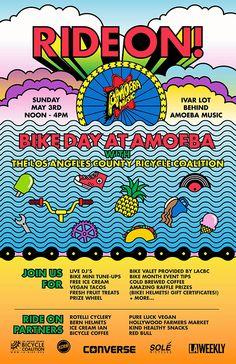 5/3  Ride On Bike Day at Amoeba Hollywood
