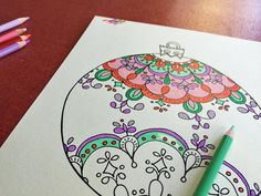 Color your own holiday decorations with free downloadable coloring pages >> http://www.diynetwork.com/how-to/make-and-decorate/crafts/2015-pictures/free-downloadable-adult-coloring-pages-