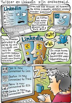 Automatisch plaatsen middels #in van tweets op LinkedIn ontkoppeld door Twitter!