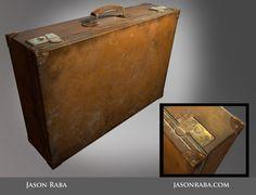 Suitcase, Jason Raba on ArtStation at https://www.artstation.com/artwork/suitcase-ff118f7a-d63f-49b8-be96-314a75aa7cb6