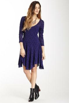 Katya Paisley Lace Dress by Free People on @HauteLook