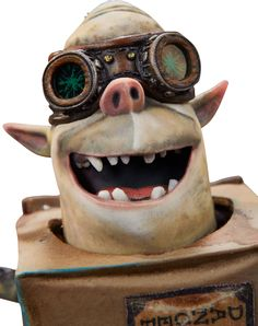 The Boxtrolls Sparky Original Animation Puppet (LAIKA, 2014).... | Lot #94192 | Heritage Auctions
