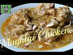 E Chicken Recipes : Mughlai Chicken Veg Recipes, Indian Food Recipes, Great Recipes, Chicken Recipes, Kerala Food, Indian Chicken, Sunday Suppers, Food Videos, Recipe Videos