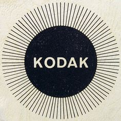 Lovely vintage logo mark for Kodak. 2 Logo, Typography Logo, Graphic Design Typography, Graphic Design Illustration, Logo Branding, Product Branding, Kodak Logo, Print Design, Logo Design