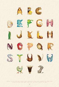 Animal alphabet - Yamagata Yuki