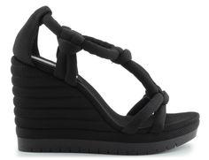 sandały calvin klein jeans re9496sofia black Models, Calvin Klein Jeans, Wedges, Shoes, Black, Fashion, Templates, Moda, Zapatos