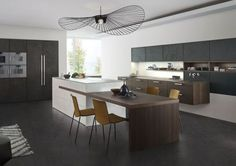 Why concrete is making an impact in kitchen design  - housebeautiful.co.uk