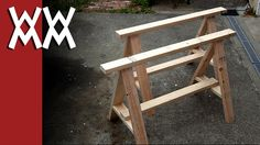 Build a pair of simple sawhorses