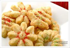 Buttery Spritz Cookies from MyGourmetConnection
