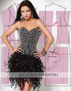 Предлагаем вам самые точные выкройки платьев на любой вкус и для любого случаяот ШКОЛЫ ШИТЬЯ Анастасии Корфиати