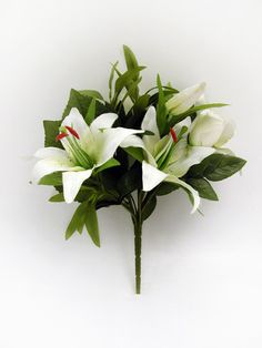 Artificial Tiger Lily Bouquet