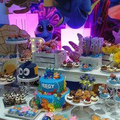 "7 Likes, 2 Comments - B'Sweets (@boldys_popcorn) on Instagram: ""#findingdoryparty #birthdaycakepops #birthdaycookies #birthdaycake"""