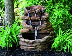 Canyon Falls Fountain | Massarelli's