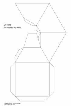 Net oblique truncated pyramid net6