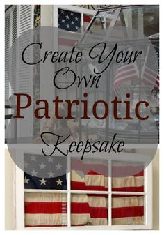 This Patriotic Flag Project is the perfect addition to summer decor that will look perfect from Memorial Day through Labor Day! Country Farmhouse Decor, Farmhouse Style Decorating, Patriotic Decorations, Patriotic Party, Patriotic Crafts, July Crafts, Holiday Crafts, Unique Home Decor, Diy Home Decor