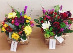 An Evanston florist supports local charities