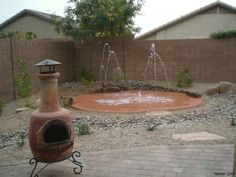 splash pad for my back yard...my kids would love this !!