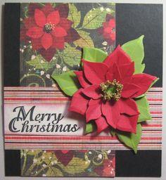 SC494 Christmas Poinsettia
