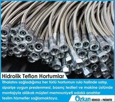 Hydraulic Teflon Hose     We provide turn-key services that focused on customer satisfaction with the sales of all kind of hose that we imported; hose pressing, pressure tests and installation on the machine.    Özkan Hidrolik  www.ozkanhidrolik.com.tr  Alfagomma Group