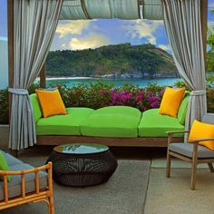 Terrace with Cool View, The Nai Harn Phuket Hotel vossy.com