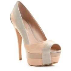 Jessica Simpson Shoes, Weema Platform Pumps found on Polyvore